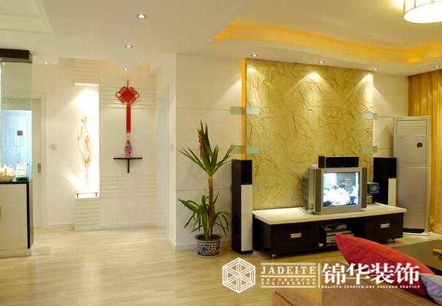 简约风格三室两厅实景图装修图片-三室两厅装修效果
