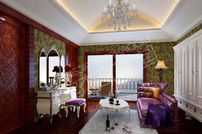 威尼斯花园900平欧式风格别墅效果图 装修模式:半包 风格:欧式古典