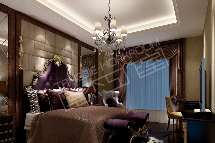 威尼斯500平别墅效果图 装修图片-别墅图片大全-混搭