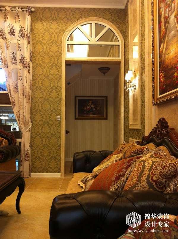 银河湾别墅440平米欧式风格实景样板间装修图片-别墅