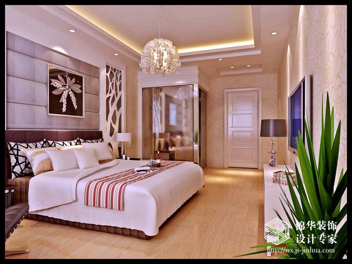 东方王谢140平现代简约风格效果图装修图片-三室两厅