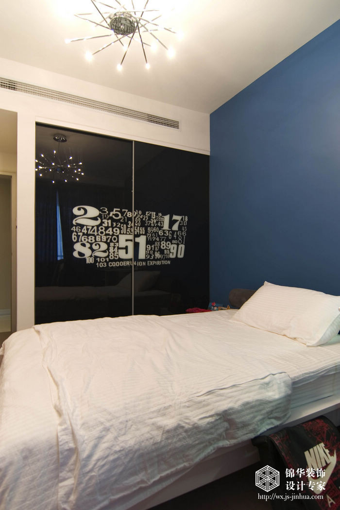 融创熙园170平现代简约风格样板间装修图片-大户型