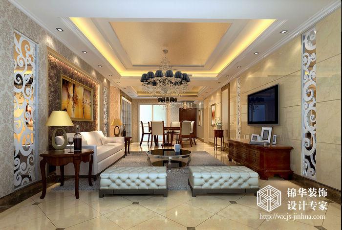 设计说明: 户型:三室两厅 面积:140 小区:东方水榭 这是一套年轻夫妇居住的房子,我们希望营造出现代、时尚、品位的居住空间。整个色调以浅杏色为主,局部采用深色作为对比,同时,以细腻工艺来表现材质感。大厅璀璨的水晶吊灯,烘托出优雅的灯光氛围,配上局部弧形造型,既创造了空间感,又不失典雅庄重,成为视觉的焦点。空间营造一个舒适、柔美的灯光氛围,柔软的软包,造型简练大方,既舒适又美观,局部的工艺挂画更能体现业主的品质生活。 本案设计方案先从空间格局入手,结合人体工程学,讲空间合理化、人性化、将有限的空间变得合