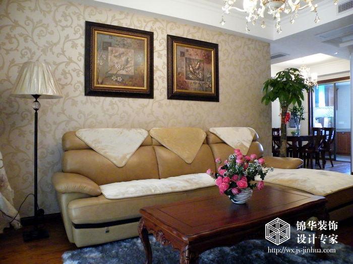 奧林花園130平簡約美式三室兩廳兩衛實景圖裝修圖片