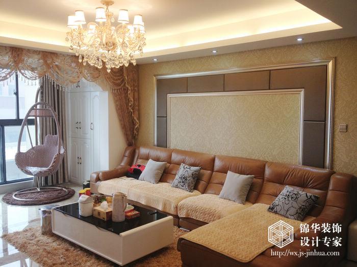 金太湖140平四室两厅两卫简欧风格实景图装修图片-大