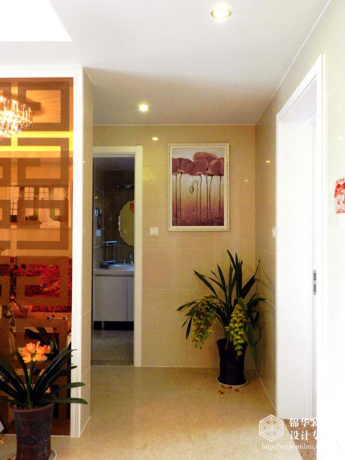 玄关装修效果图-装修图片-无锡锦华装饰