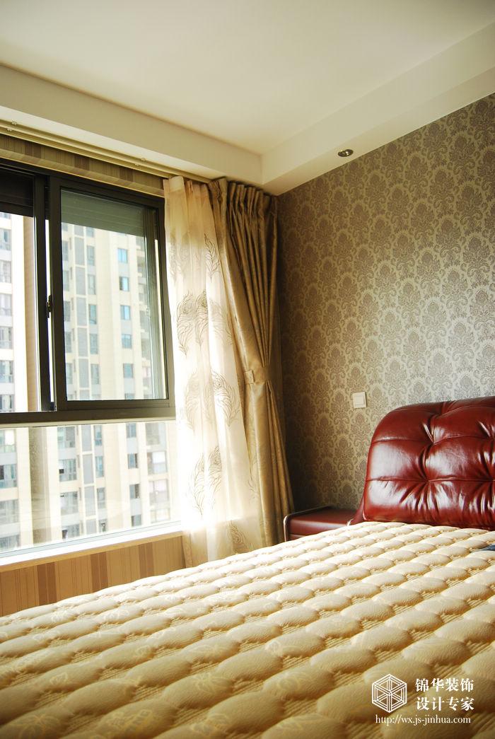 润泽雅居89平现代简约风格样板间装修图片 两室两厅装修效果图 现代