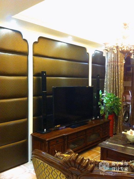 长江国际 120平 美式装修图片 三室两厅装修效果图 美式乡村 田园 风格