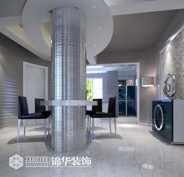 江苏锦华装饰无锡分公司装修图片-三室两厅装修效果图
