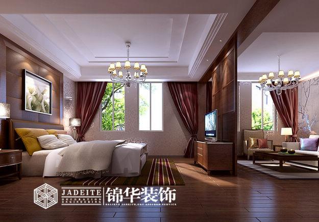 江苏锦华无锡分公司装修图片-大户型-新中式风格