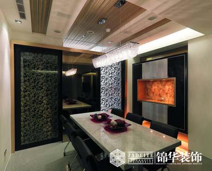 133平方三室两厅两卫户型设计 装修设计方案 无锡锦华装饰