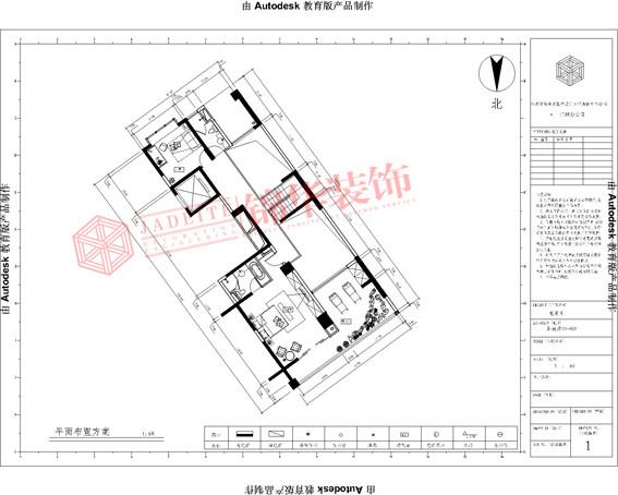 丹芙春城复式-装修设计方案-无锡锦华装饰
